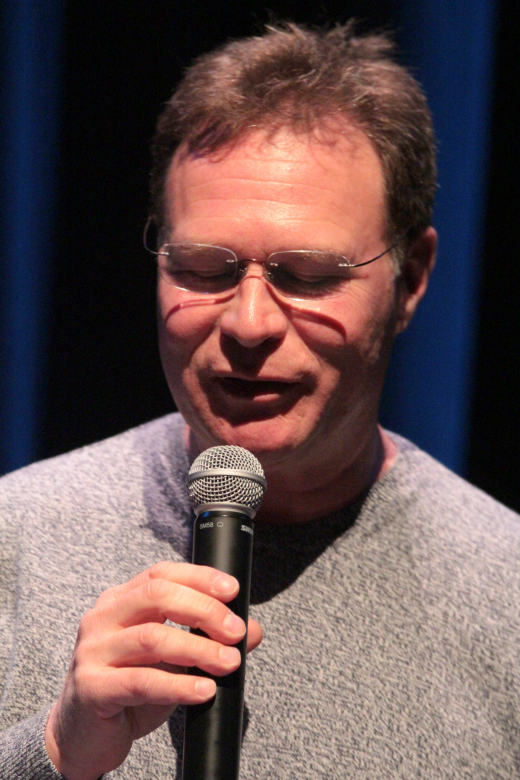 Stephen Davids performing live at the Surrey Poetry Festival 2015